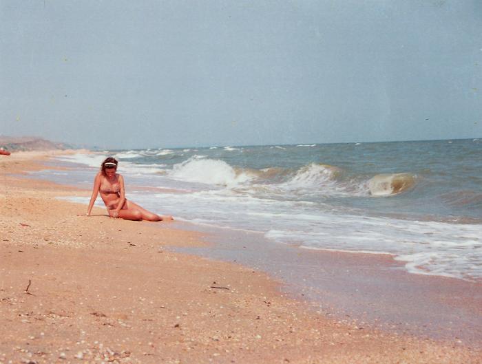 пляж азовского моря фото